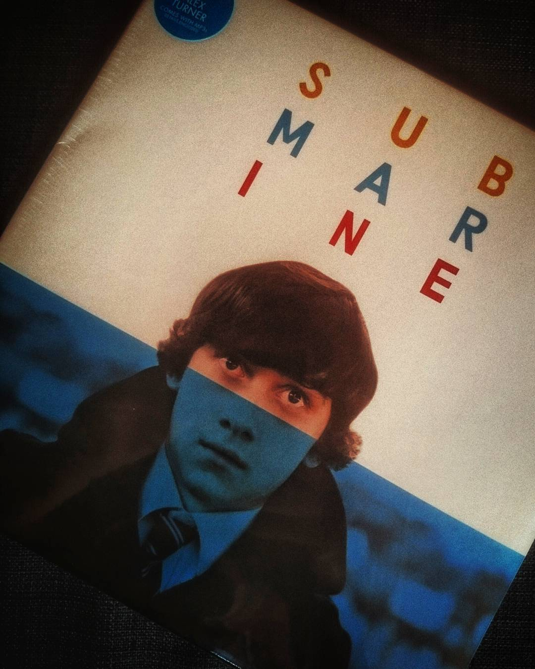 Bday gift from @psilos00 .  Alex Turner's OST for the wonderful Richard Ayoade's film submarine.  #submarine #vinyl #10inches #alexturner #ost #music