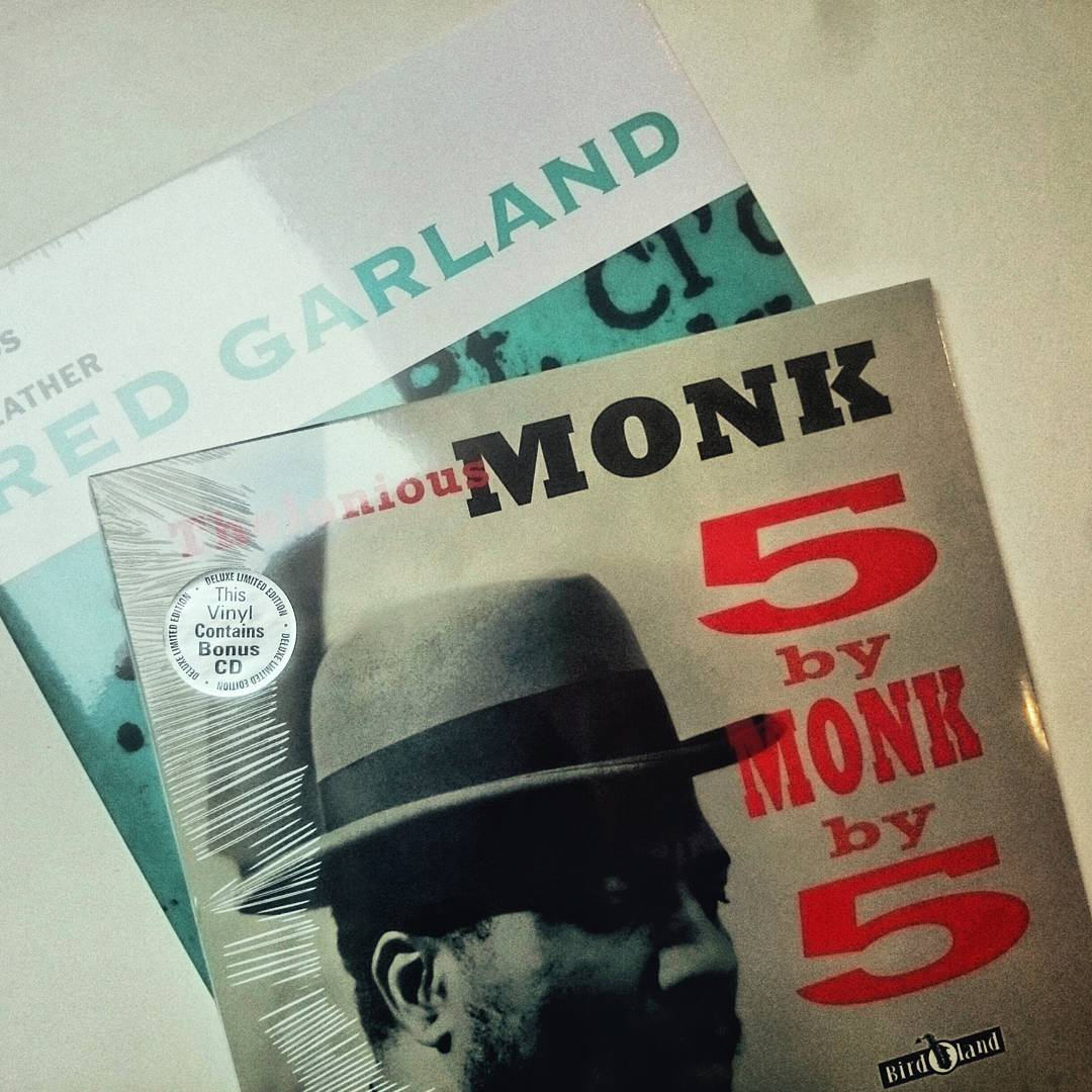 These two arrived today:  Thelonious Monk Quintet -  5 By Monk By 5 &  Red Garland Trio -  All kinds of Weather. £8.59 for  both of them innit.  #monk #jazz #hardbop #vinyl #12inch #brandnew #lp #sealed