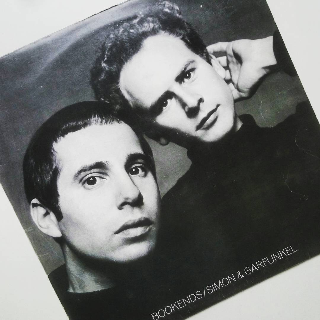 A great album I picked up the other day from a charity shop.  Simon &  Garfunkel - Bookends,  1968. #vinyl #lp #1968 #mrsrobinson #hazyshadeofwinter