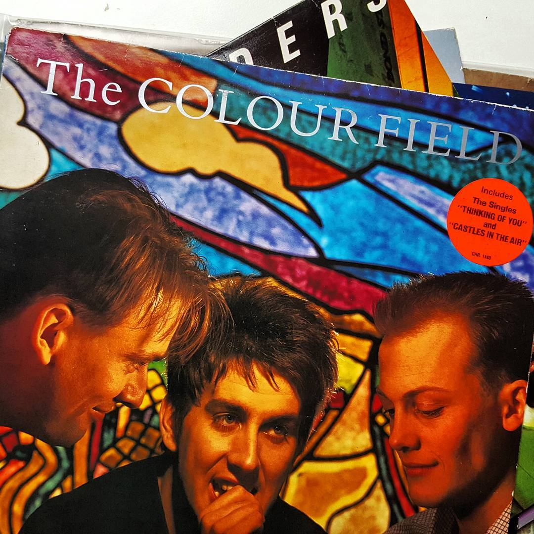 Spinning The Colour Field - Virgins and Philistines,  1985.  Found in a crate unwanted and lonely,  now has a new home 😸. Vocals by Terry Hall of the Specials and the lesser known Fun boy three.  #nowspinning #vinyl #80s #lp #12inch #pop #newwave