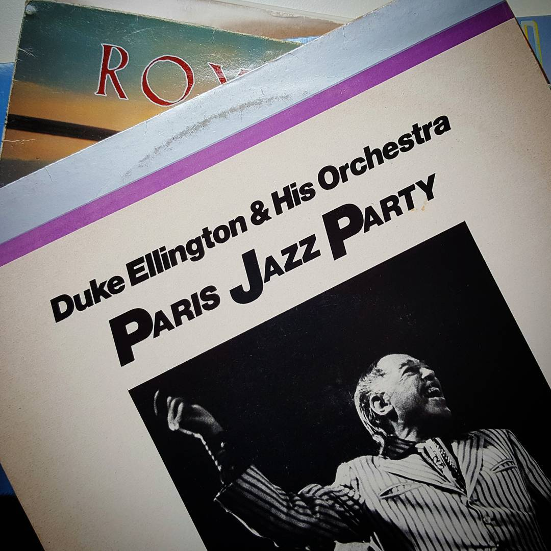 Now spinning: Duke Ellington &  His Orchestra -  Paris Jazz Party,  1981. Recorded live in Paris 1st November 1969.  #BigBand #swing #jazz #record #nowspinning #vinyl #duke #12inch #paris #live