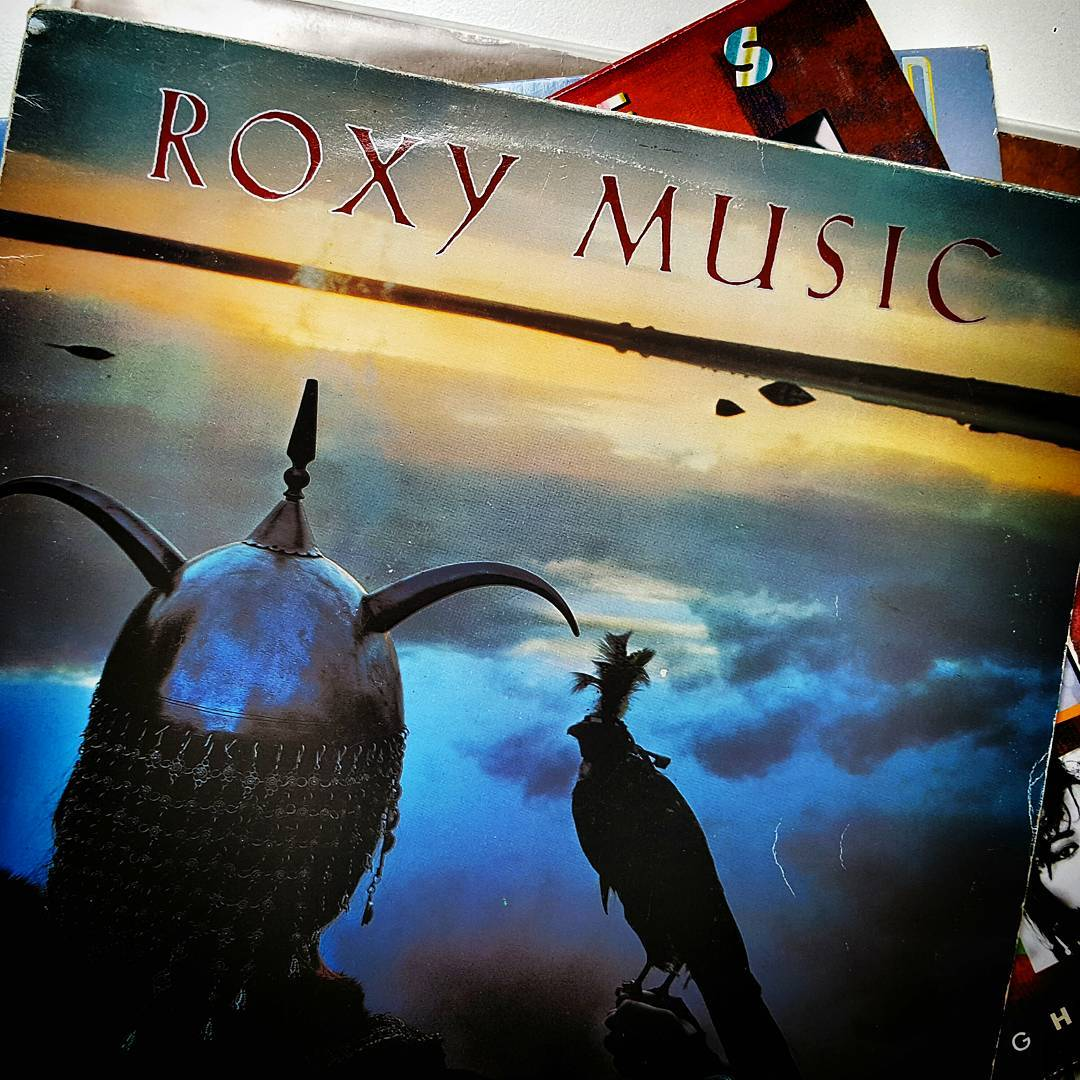 My favourite Roxy Music album:  Avalon, 1982. The last Roxy Music studio album and the one that culminated the band's sound. The familiar sound that followed  Bryan Ferry on the albums Boys and Girls &  Bête noire.  #record #vinyl #lp #12inch #pop #artrock #nowspinning